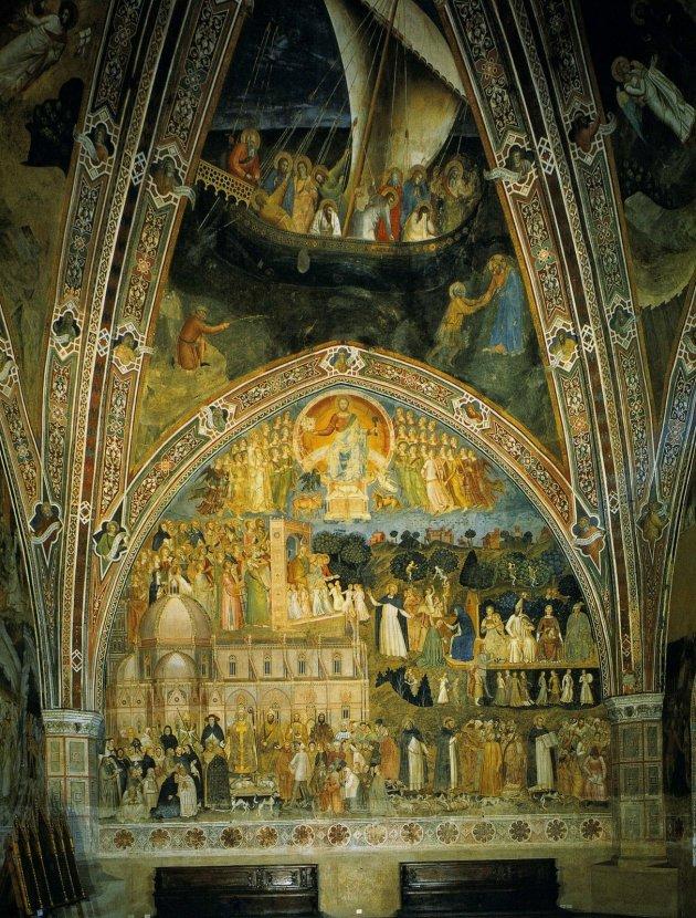 Andrea da Firenze, frescoes, Spanish Chapel, Sta Maria Novella