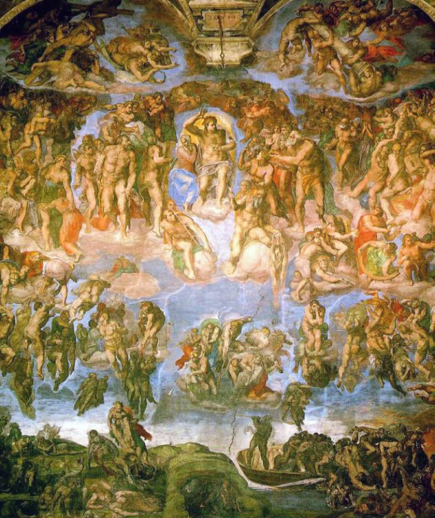 Michelangelo_-_Fresco_of_the_Last_Judgement