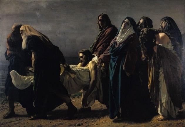 Antonio_Ciseri-Cristo levado ao sepulcro