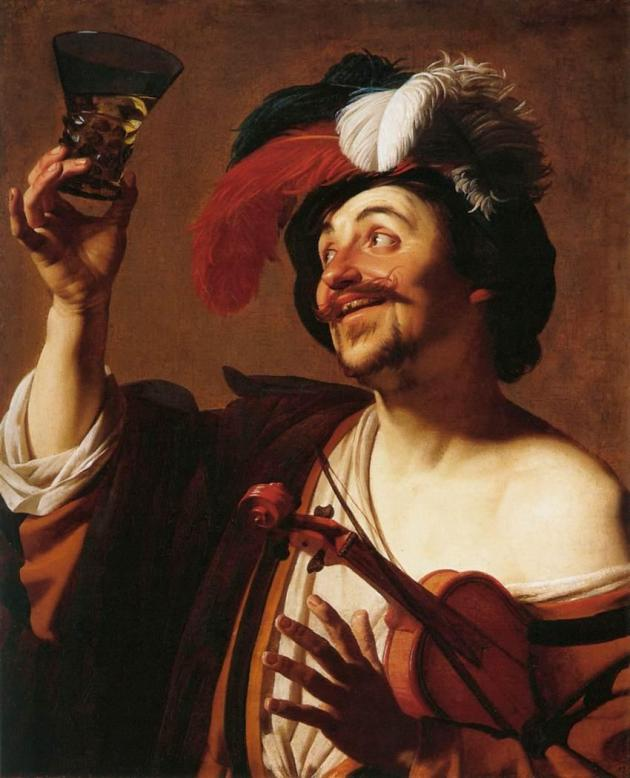 Gerard_van_Honthorst_-_The_Happy_Violinist_with_a_Glass_of_Wine