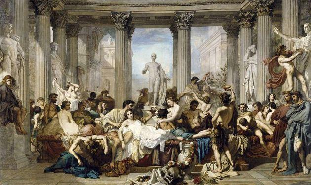 Os romanos da decadencia