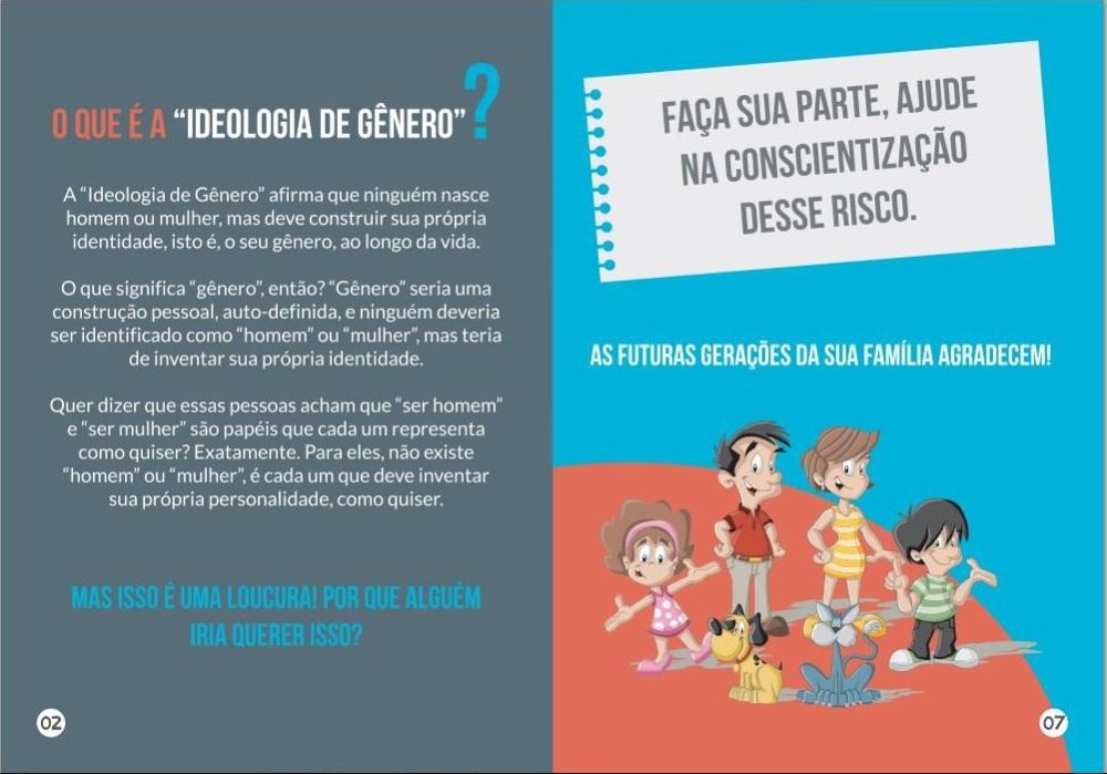 Ideologia de gênero: a votação para a implantação nos municípios é este mês!!! (1/3)