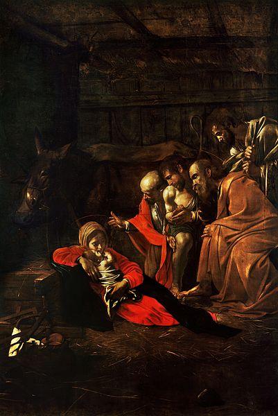 Caravaggio_Adoracao_Pastores