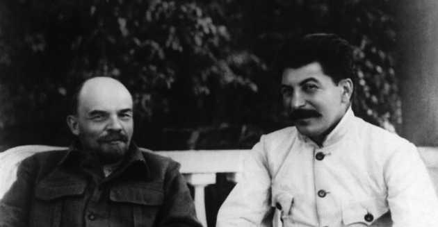 joseph-stalin-and-vladimir-lenin-P